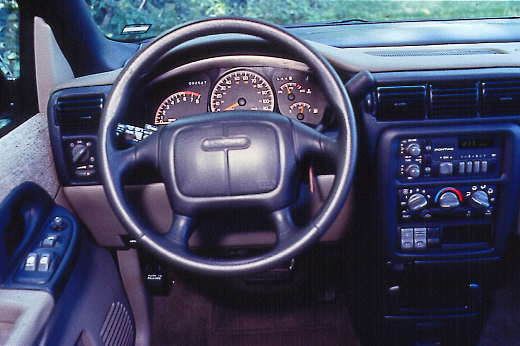 Oldsmobile Silhouette Interior