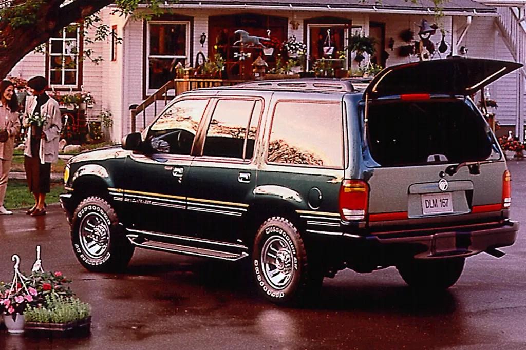 1997 01 Mercury Mountaineer Consumer Guide Auto
