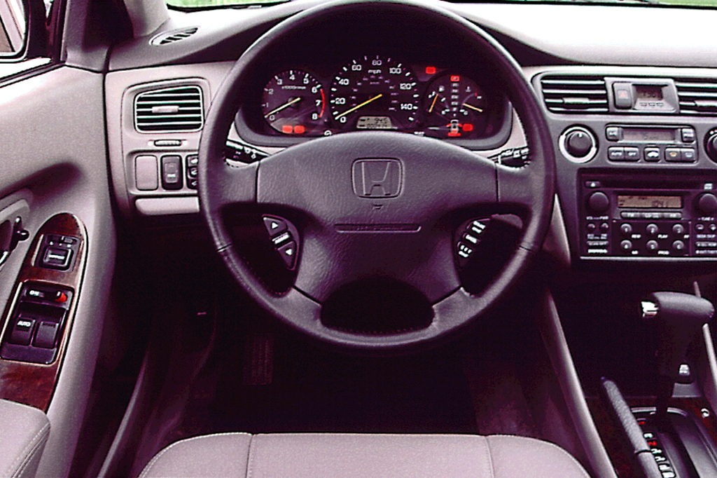 Interior Wagon 1995 Leather Accord
