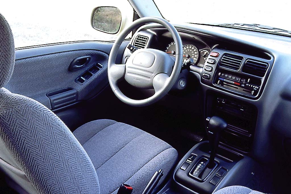 Suzuki Grand Interior 2002 Vitara