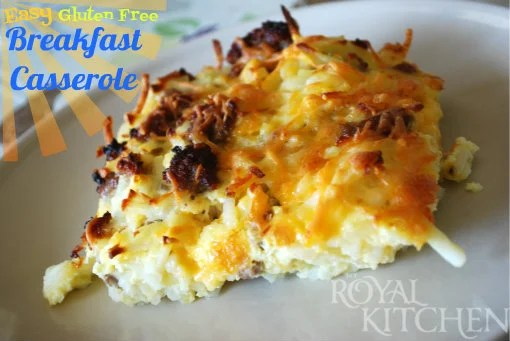 Gluten-Free Casseroles: Breakfast