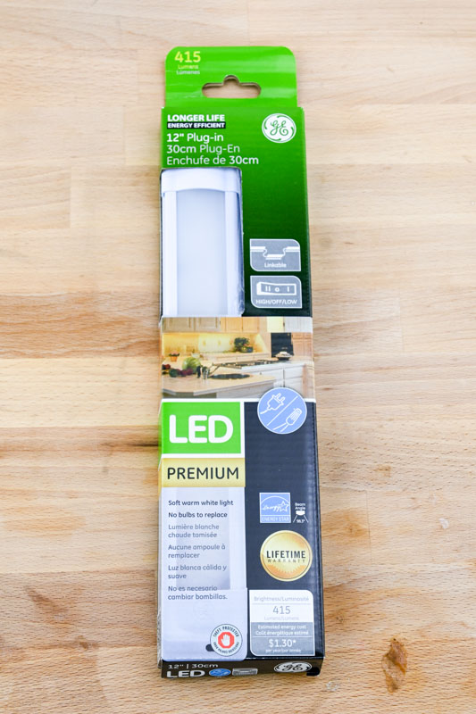introducing under cabinet lighting by