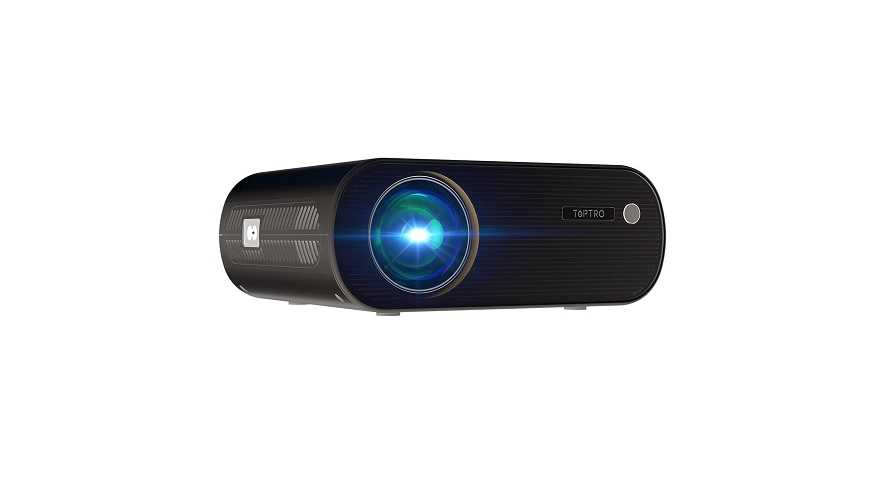 TOPTRO WiFi projector 5500 lumens Bluetooth review