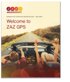 ZAZ GPS User Guide - Powered by SG Connected Car