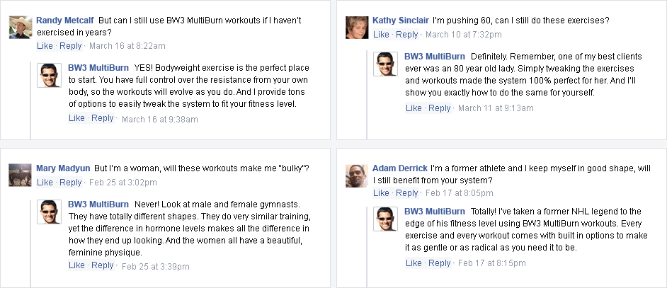 Bodyweight Burn reviews