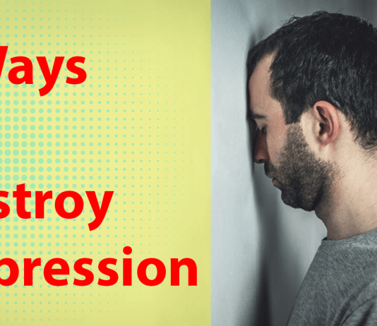 How destroy depression