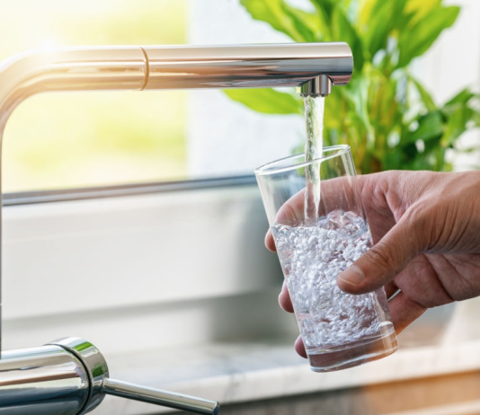 DIY water filter at home