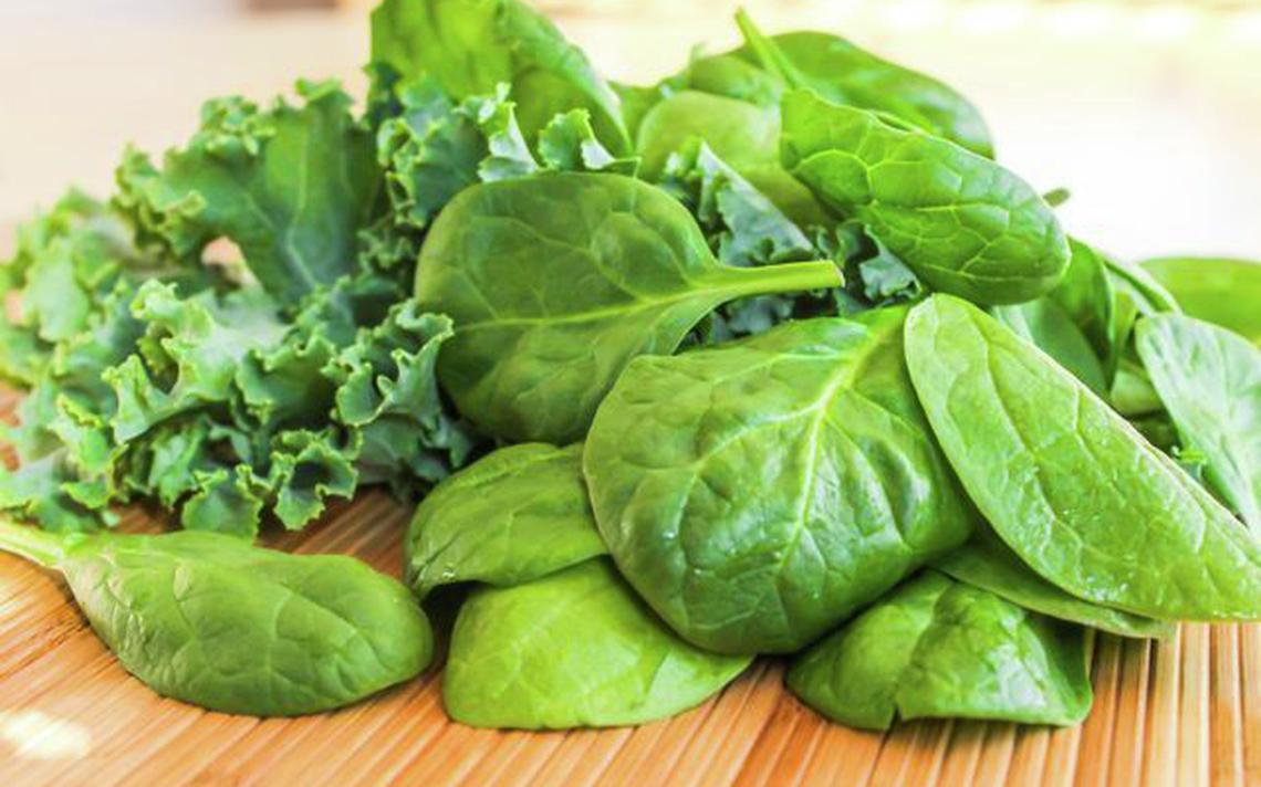 Leafy green vegetables