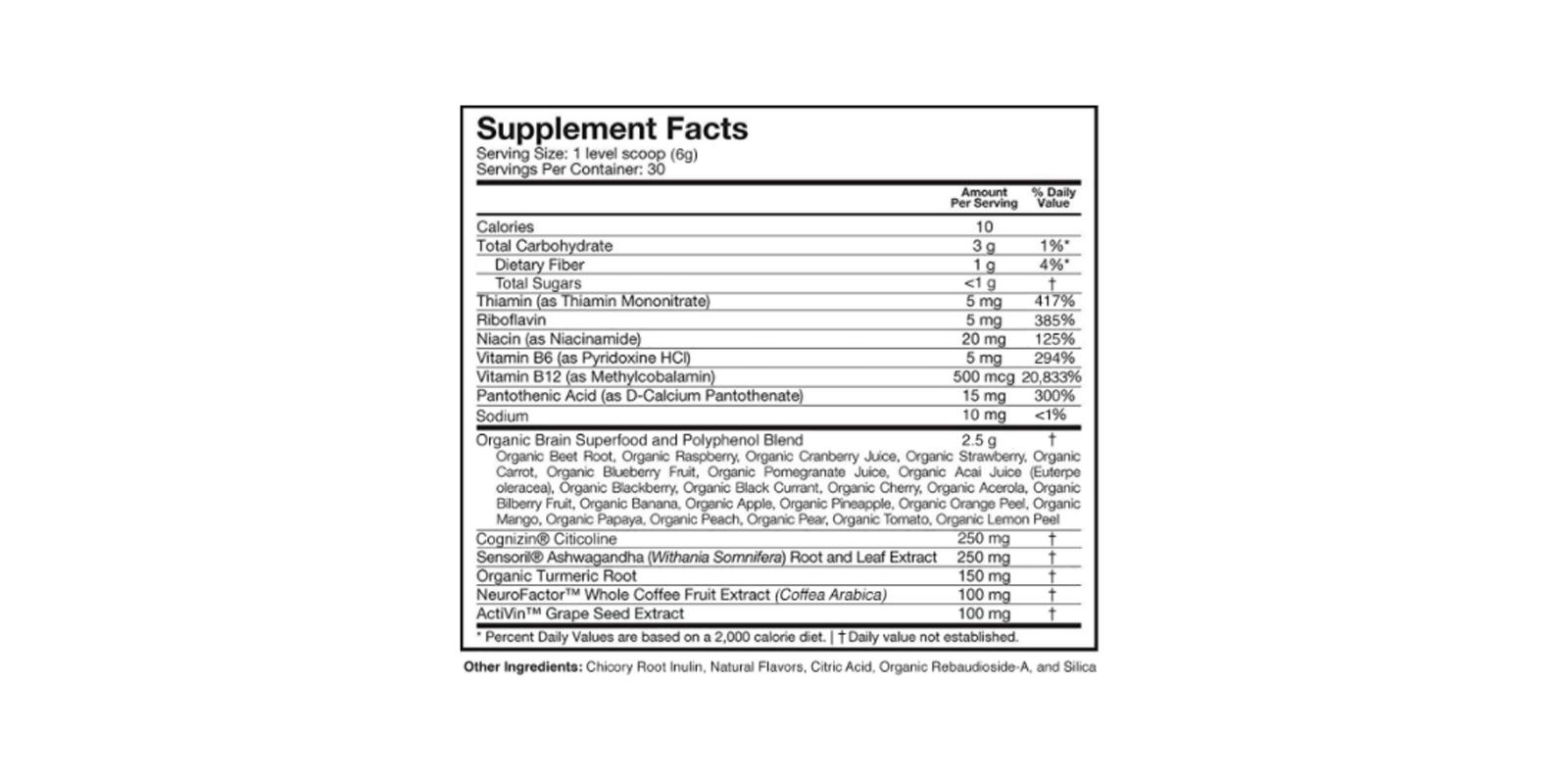 Neuroactiv6 dosage