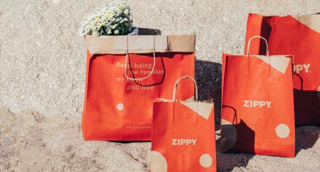 Zippy elimina 1,7 milhões de sacos de plástico por ano