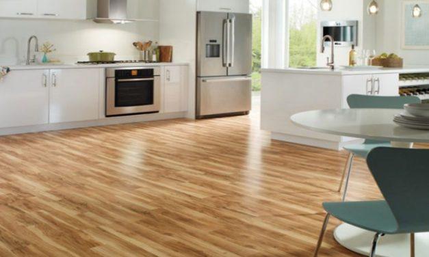 Escolha o chão da cozinha