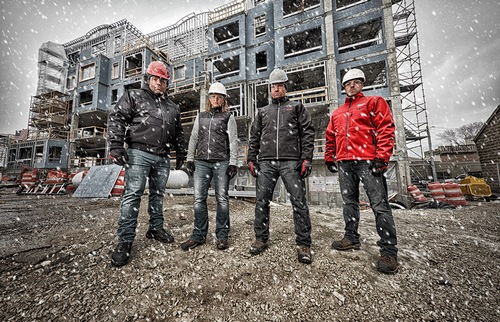 Image result for heated jackets construction