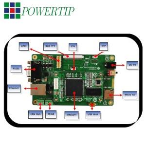 Powertip Evaluation Board