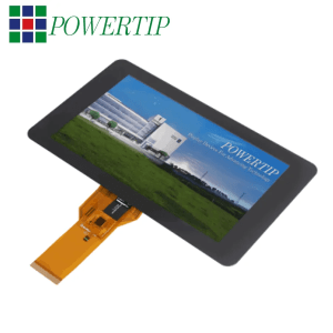 TFT projected capacitive touch panels