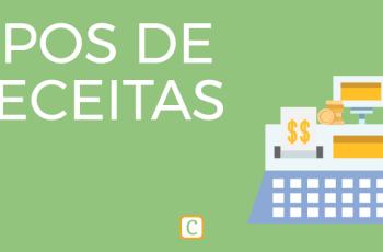 TIPOS DE RECEITAS.