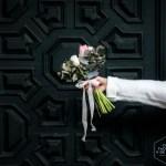 Un ramo para una novia romántica