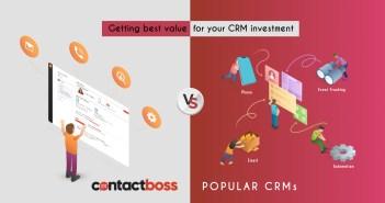 contact database, CRM, comparison