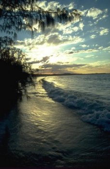 Sunset near Waddy Point