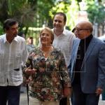 Bachelet arranca visita oficial a Cuba en tertulia con artistas de la isla