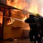 Incendio en el norte de Uruguay afecta a 20 locales comerciales callejeros
