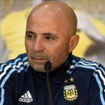 "Sampaoli: ""Messi está bien para jugar"""