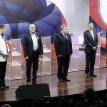 Mano dura y reactivar economía proponen candidatos en debate en Costa Rica