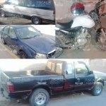 Cuatro carros robados que dejan abandonados