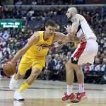 99-102. Brook López se convierte en verdugo de su exequipo y ganan Lakers
