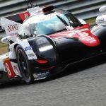 El Toyota TS050 Hybrid de Alonso, estrella en la presentación de las 24 Horas