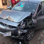 Joven ebrio provoca choque múltiple en Felipe Pescador
