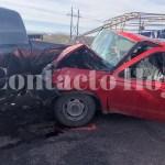 Cinco lesionados, dos muy graves, en accidente carretero cerca de Celulósicos Centauro