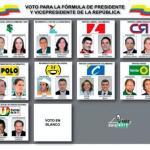 Candidatos definen su posición en tarjetas de votación elecciones presidente