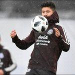 La selección mexicana hace trabajo regenerativo tras el triunfo ante Islandia