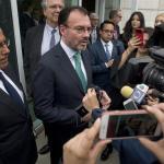 Negociaciones del TLCAN continúan, pese a tensión diplomática: Videgaray