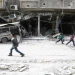 Mueren 15 niños al ser bombardeada su escuela cerca de ciudad siria de Guta