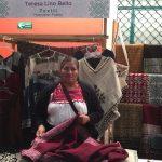 Teresa Lino, la artesana que busca rescatar el trabajo de sus ancestras