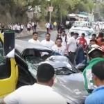 Un niño muerto y 17 lesionados en accidente de tráfico en Honduras