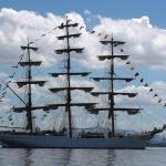 Buques escuela de siete países tendrán intercambio durante regata de 157 días