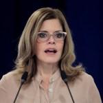 """Fujimorista llama """"aprendiz de terrorista"""" a la primera ministra de Perú"""