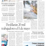 Edición impresa del 27 de abril del 2018
