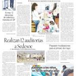 Edición impresa del 29 de abril del 2018