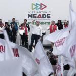 Meade revira a López Obrador y desea conserve buen humor cuando pierda