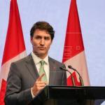 Justin Trudeau asiste a vigilia en honor de 15 muertos en accidente en Canadá