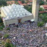 Motociclista irrumpe en Catedral de Managua para intimidar a cardenal
