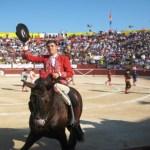Sólo una vuelta al ruedo en Monterrey para Guillermo Hermoso