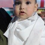 El pequeño Édgar fue bautizado y celebró su cumpleaños