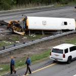 Al menos dos muertos y 43 heridos en accidente de bus escolar en EE.UU.