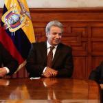 Presidente Lenín Moreno primero en llegar a investidura en Costa Rica