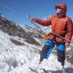 Un doble amputado alcanza la cima del Everest