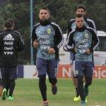 Acuña entrena diferenciado en última práctica de Argentina antes de amistoso